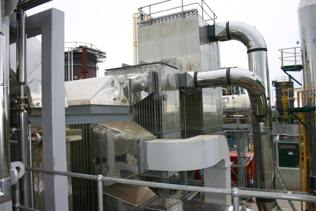 New large boiler installation