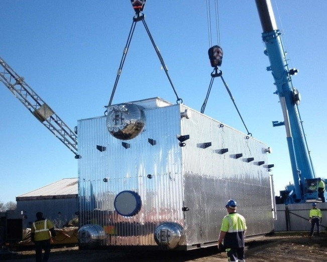 A new waste heat boiler for Ballance in Kapuni